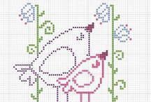 pt de X: oiseaux, nichoirs et plumes