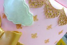 MINHAS RENDAS DE BISCUIT / Rendas produzidas através de moldes de silicone, temos vários modelos e cores.
