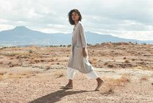 Boundless Spaces / As the days get longer and summer begins to set in, embrace the heat and join us on a trip to the sun-drenched landscape of Santa Fe in New Mexico. Taking inspiration from the magnificent towering terracotta cliffs, this season's collection combines hot rich colours and natural sun-bleached tones to create a perfectly balanced, beautifully crafted, summer wardrobe.