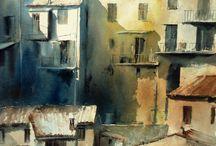 acquerelli urbani