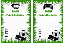 soccer birthday invitations free