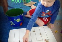 Schedules and Routines / Schedules, Routines and Printables for little children.