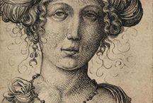 antieke vrouwen en mannen foto,s