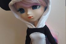 Pullip Hoodies & Onsies / Hoodies and Onsies made for Pullip dolls and for sale in my Etsy store, TheDollieBoutique.