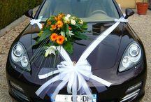 Bröllop - bildekorationer