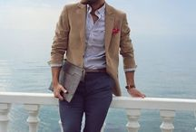 Stylish Academic Men / Style inspiration for men in academia