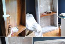 Cómo pintar muebles enchapados
