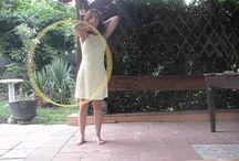 My hoop dance tutorials