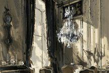 interior drawings / drawings