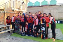 Wakeboarding for Hen groups / Wakeboarding - thrilling fun on the water makes a great hen party activity