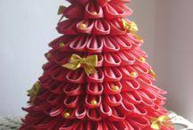 Christmas decorations and original baubles