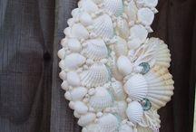 artesanía en conchas