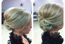 Pinning ceremony hair
