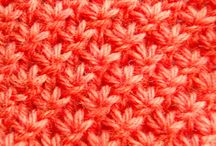 knitting stitches / by Wollhase