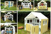 Dom dla dzieci z palet