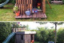 Kids garden space