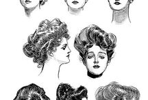 WOMEN: Gibson Girl (Edwardian Era)