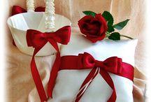 Bordó , piros esküvő - Red wedding / ideas - ötletek