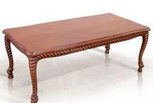 Coffee Tables / Mahogany and Teak   Classic - Modern   www.indofurniture.net