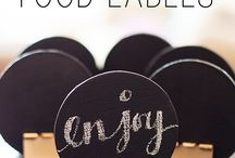 DIY: Labels and Holders