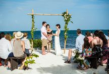 Ceremony - Belize weddings / Wedding ceremony moments and setups