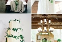 Foliage and greenery wedding trends