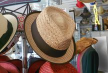 Straw Fedoras  / All these Straw Fedoras are available in our store!