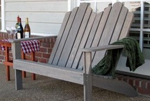 Adirondack Chairs / A collection of Adirondack Chairs!