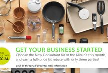 Pampered Chef / Book a party, become a consultant, or buy some products from me.  http://new.pamperedchef.com/pws/kellynellany / by Kelly Nellany