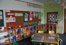 Klassenzimmer und Organisation