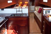 Sailboats interior design