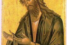 Giovanni Battista /  icone di  San Giovanni Battista