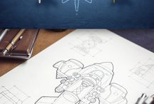 Game - drawing & 3D