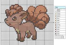 Cross Stitch - Pokemony