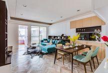 Kolorowe i przytulne mieszkanie dla rodziny