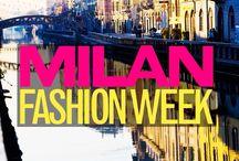 Milan Fashion Week Fall '14 / MFW
