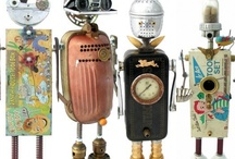 """Fobots - found object """"robots"""""""