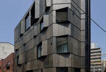 Arkitektur & Hus & Städer / Allt om hus fasader byggnader platser dörr-beslag och entré / by Stighab Guld