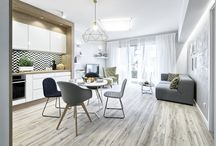 All in one / Beautiful apartments as an open space