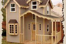 playhouses/tree houses