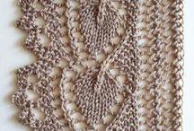 Knitting - Lace edging