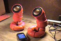 Make your own loudspeakers / DIY Loudspeaker. Becaus just buying a pair is no fun.
