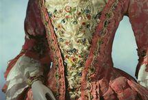 1760 - 1769 / kleding voor dames en heren van de jaren 1760 - 1769