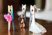 Crafts / clothespin things