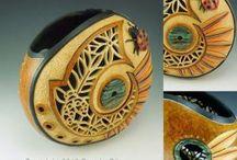 Craft.Gourds / Выжигание, декорирование, скульптура из тыкв
