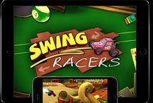 Swing Racers / Swing Racers - The most fun you'll ever have with one finger! Coming Soon to the App Store!