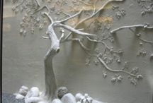 bas~relief~trees