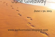 Roz Lee's Monthly Giveaway