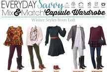 Winter Capsule Wardrobes & Outfits