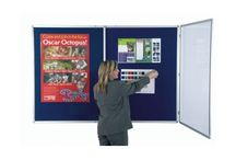 Tamperproof Notice Boards Panel Warehouse / Lockable Tamperproof Notice Boards have a shatterproof polycarbonate glazing allowing you to display important information securely in public areas.